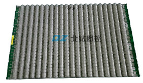Corrugated replacement Shaker Screen